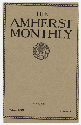 Amherst monthly, 1915 May