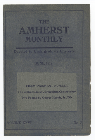 Amherst monthly, 1912 June
