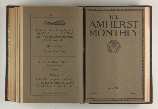 Amherst monthly, 1917 March