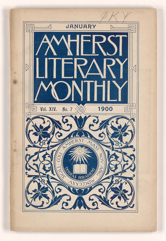 Amherst literary monthly, 1900 January