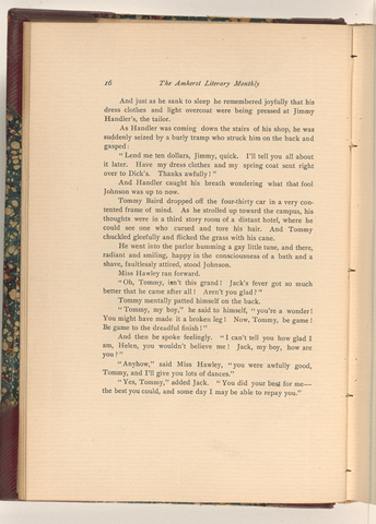 Amherst literary monthly, 1903 April