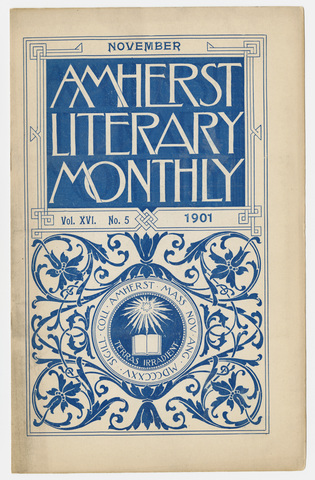 Amherst literary monthly, 1901 November