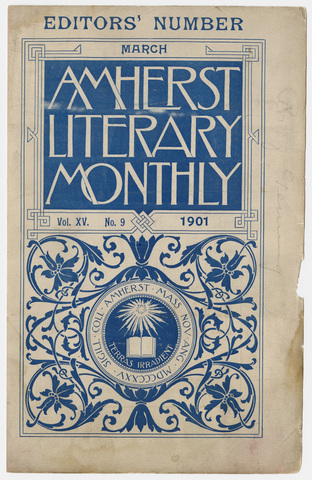 Amherst literary monthly, 1901 March