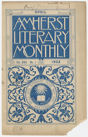Amherst literary monthly, 1902 April