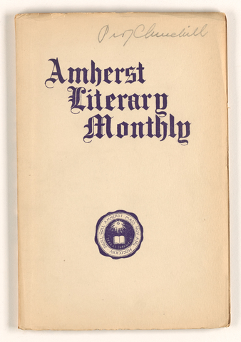 Amherst literary monthly, 1904 March