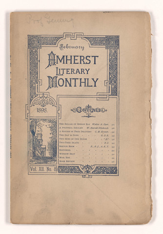 Amherst literary monthly, 1898 February