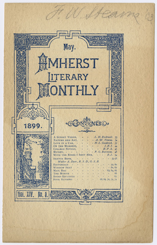 Amherst literary monthly, 1899 May