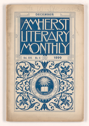 Amherst literary monthly, 1899 December