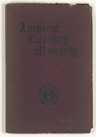 Amherst literary monthly, 1902 November