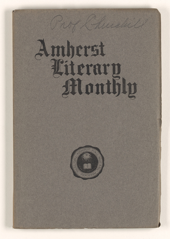 Amherst literary monthly, 1903 May