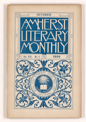 Amherst literary monthly, 1899 October