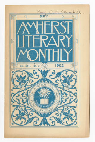 Amherst literary monthly, 1902 May