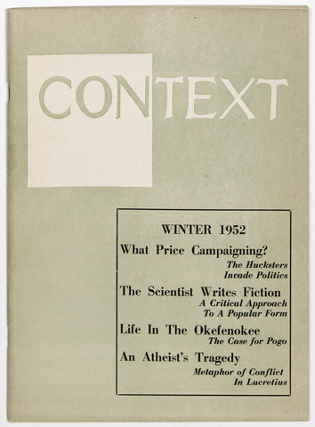 Context, 1952 winter