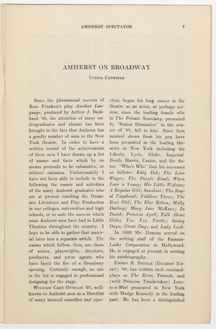 Amherst spectator, 1933 March