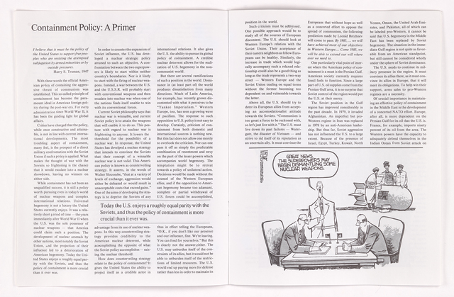Amherst spectator, 1987 March