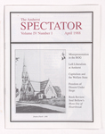 The Amherst spectator, 1988 April