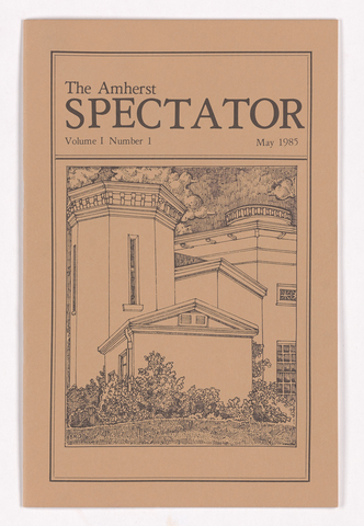 Amherst spectator, 1985 May