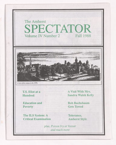 Amherst spectator, 1988 fall