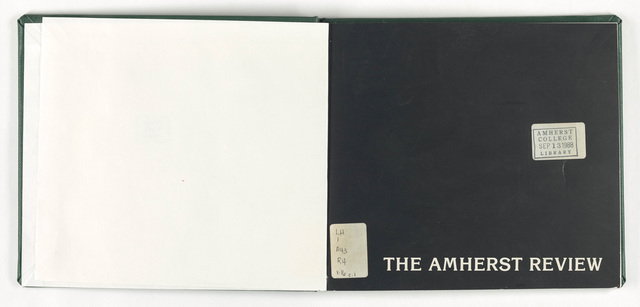 Amherst review, 1988