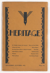 Heritage, 1932 September-October