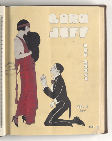 Lord Jeff, 1923 December