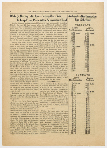 gazette of Amherst College, 1943 December 17