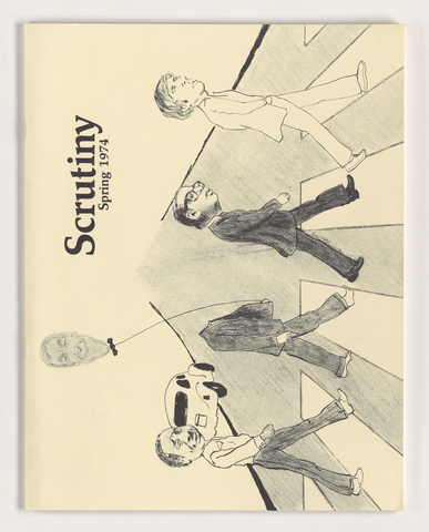 Scrutiny: The Amherst College course selection catalogue, 1974 spring