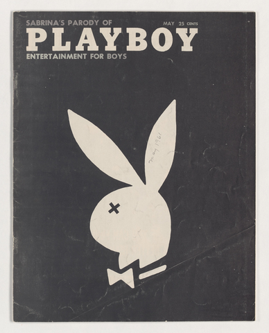 Sabrina parody of Playboy: Entertainment for boys, 1961 May