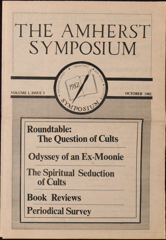 Amherst symposium, 1982 October