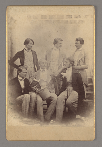 Photograph of Henry John Van Lennep and brothers