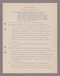 Amherst College faculty meeting minutes 1916/1917