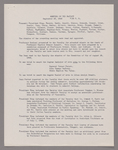 Amherst College faculty meeting minutes and Committe of Six meeting minutes 1945/1946