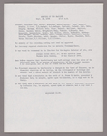 Amherst College faculty meeting minutes and Committe of Six meeting minutes 1936/1937