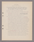 Amherst College faculty meeting minutes 1919/1920