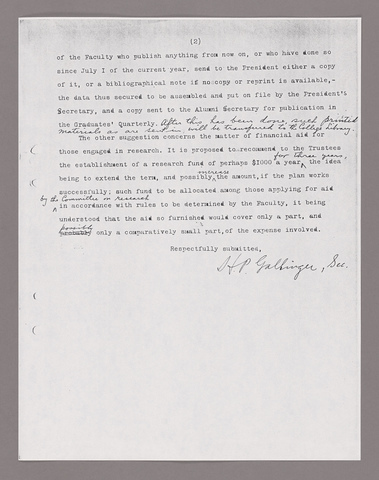 Amherst College faculty meeting minutes 1927/1928
