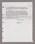 Amherst College faculty meeting minutes and Committe of Six meeting minutes 1962/1963