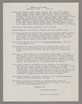 Amherst College faculty meeting minutes and Committe of Six meeting minutes 1932/1933