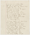 "Transcription of Emily Dickinson's ""As summer into autumn slips"", ""The birds began at four o'clock"", and ""There is no frigate like a book"""