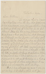 Transcript of Emily Dickinson letter to William Cowper Dickinson