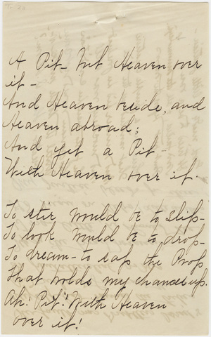 Transcriptions of Emily Dickinson's