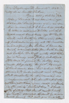 Samuel Woodworth Cozzens letter to Justin Perkins, 1863 June 15