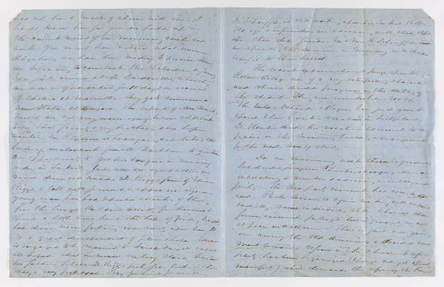 Edwin Elisha Bliss letter to Justin Perkins, 1866 August 2