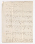 James M. Gordon letter to Justin Perkins, 1863 March 9