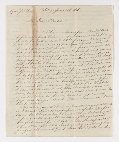Friedrich Haas letter to Justin Perkins, 1836 June 26