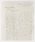 Rufus Anderson letter to Justin Perkins, 1842 February 24