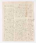 William C. Jackson letter to Justin Perkins, 1837 December 23