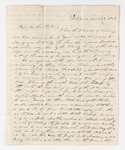 William C. Jackson letter to Justin Perkins, 1837 March 27