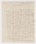 Christian Gottlieb Hoernle letter to Justin Perkins, 1836 October 20