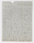 Edwin Elisha Bliss letter to Justin Perkins, 1868 March 12
