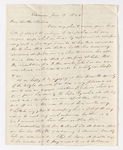 William C. Jackson letter to Justin Perkins, 1840 June 17